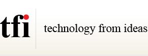 TFI: Technology From Ideas Logo